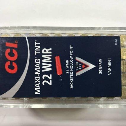 CCI 22 wmr 30 gr hp tnt