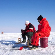Ice fishing accessories