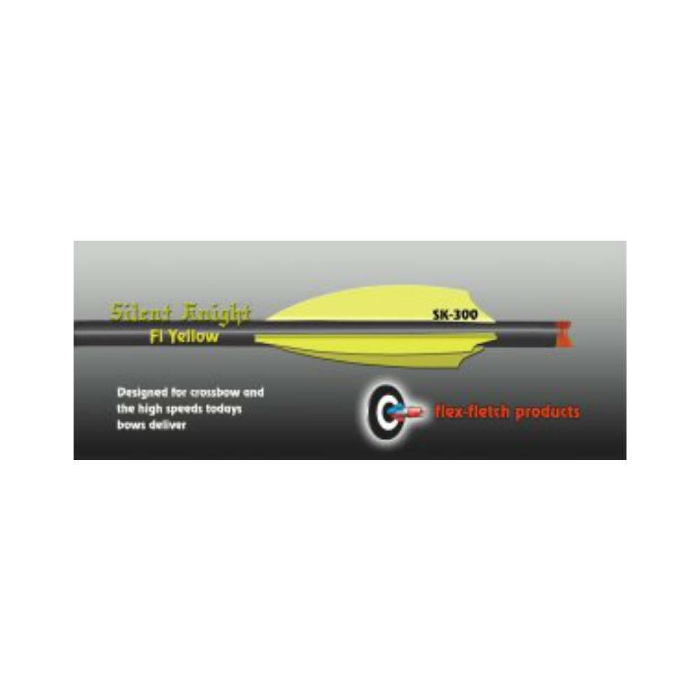 Flex Fletch SK-300 FLO YELLOW
