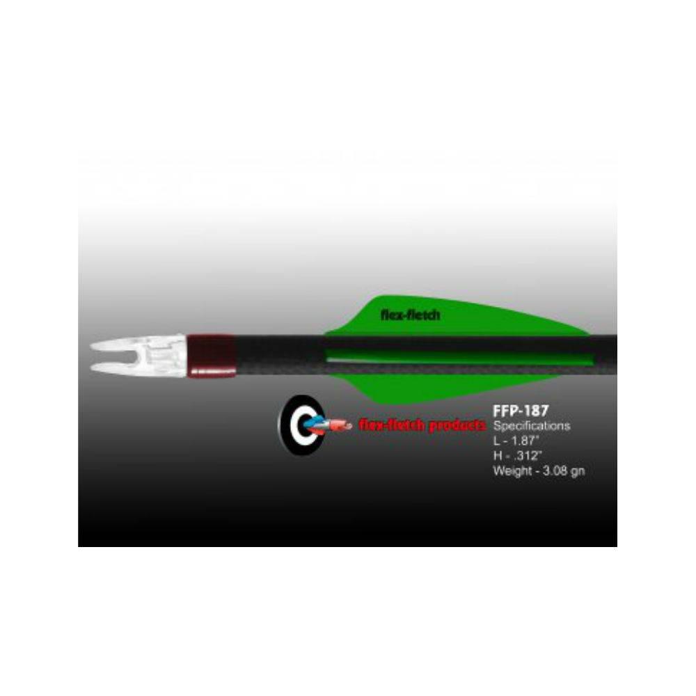 Flex Fletch FFP-187 COSMIC GREEN