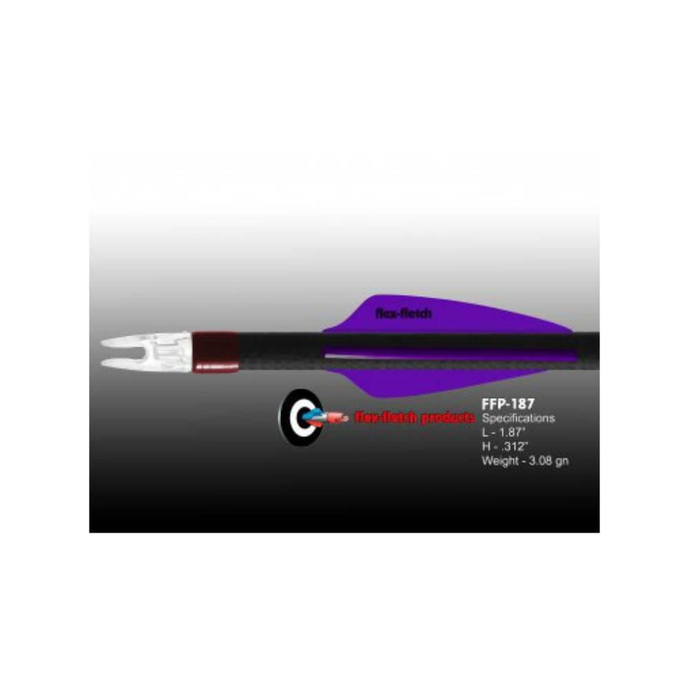 Flex Fletch FFP-187 PURPLE