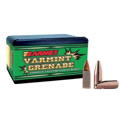 Barnes 22 cal 50 gr HP Varmint Grenade