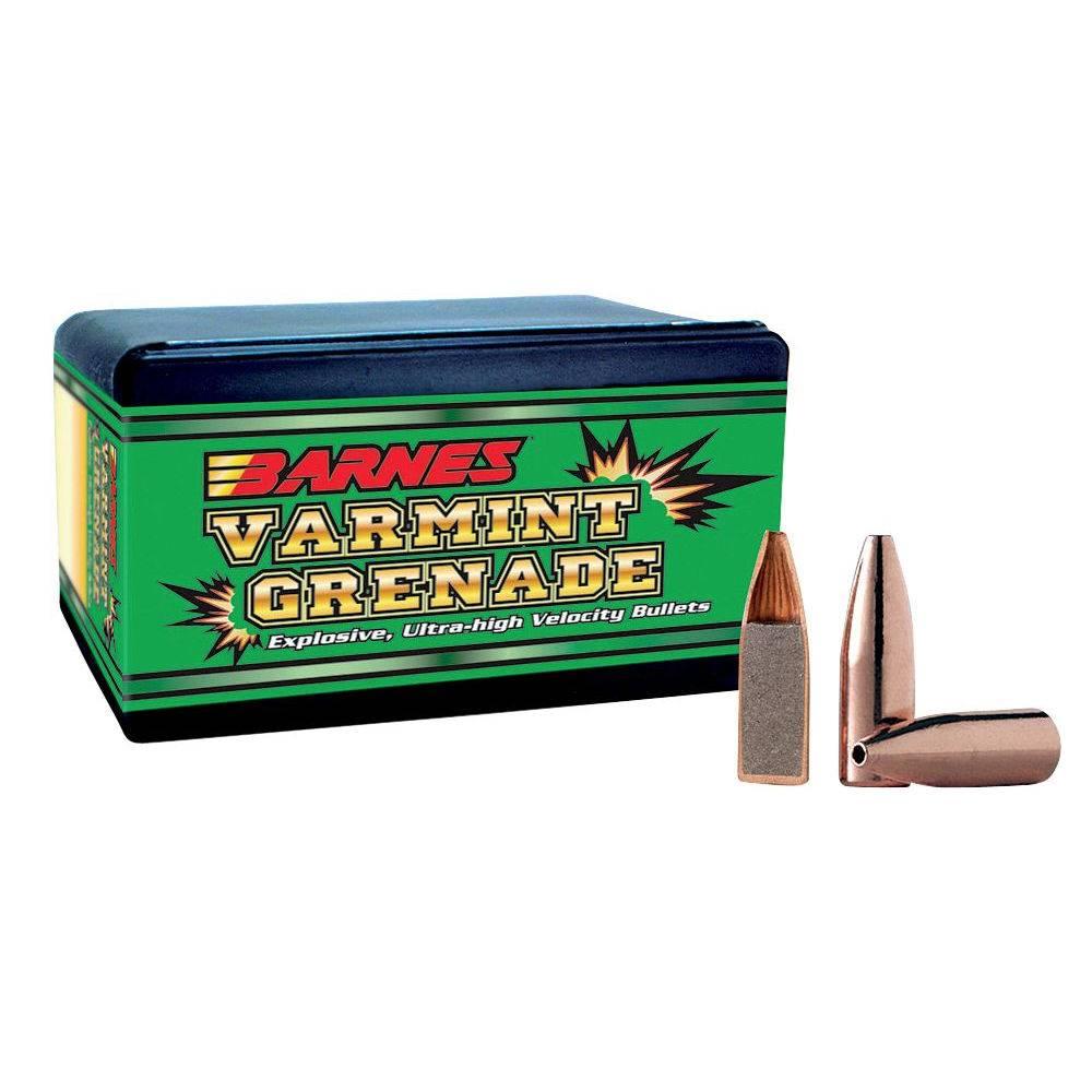 Barnes .224 36 gr Varmint Grenade FB 100 ct.