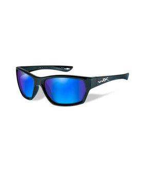 Wiley X MOXY POL BLUE MIRROR LENS/GLOSS BLACK FRAME