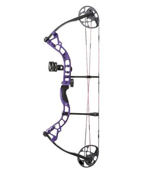 "Diamond Archery 2016 DIAMOND PRISM 5-55# 18-30"" RH PURPLE RTS"