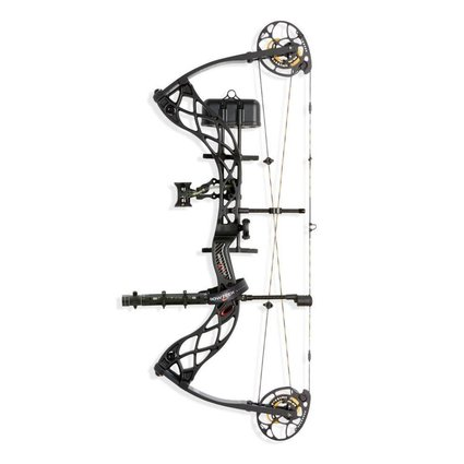 Bowtech Archery BOWTECH CARBON ICON RH CARBON FIBRE 60# BOW ONLY