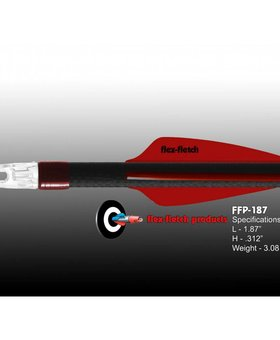 Flex Fletch FFP-187 REAL RED