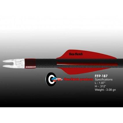 Flex Fletch FFP-187 REAL RED