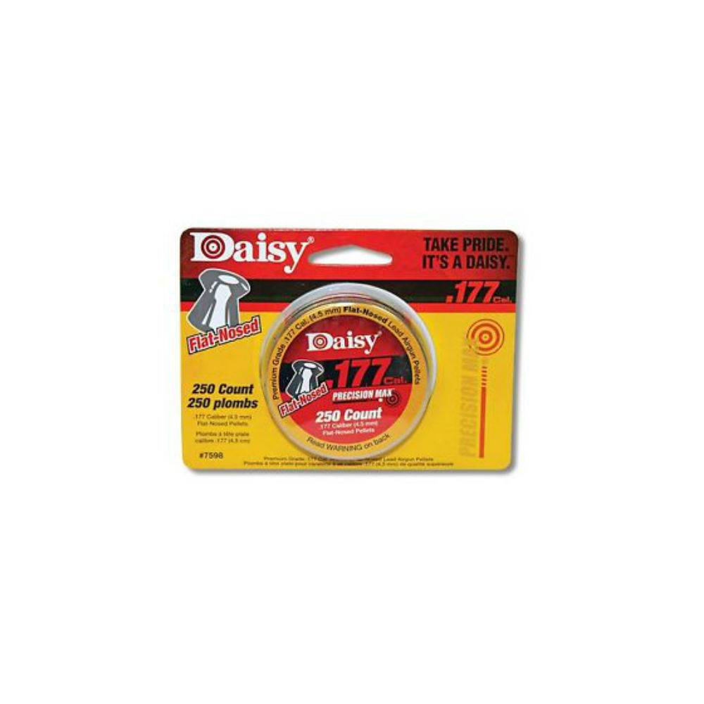 Daisy .177 CAL 250 COUNT FLAT-NOSED PELLETS