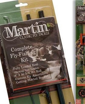 Martin Fly Fishing CLASSIC FLY TACKLE COMPLETE KIT
