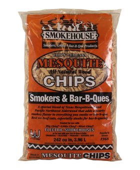 SMOKEHOUSE MESQUITE CHIPS SMOKERS & BAR-B-QUES