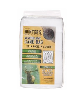 HUNTER'S SPECIALTIES INC. Quarter Size Game Bag - 4 Pack