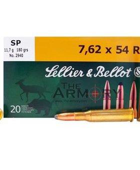 Sellier & Bellot 7.62x54 R 148 gr fmj