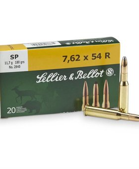 Sellier & Bellot 7.62x54R 180 gr sp
