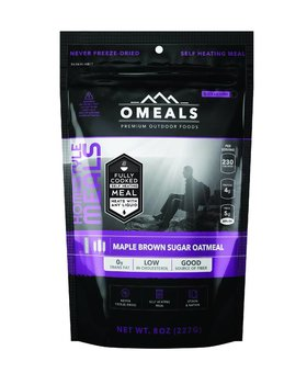 Omeals Oatmeal Maple Brown sugar