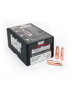 NOSLER BULLETS 7mm 140 gr Accubond   50 ct.