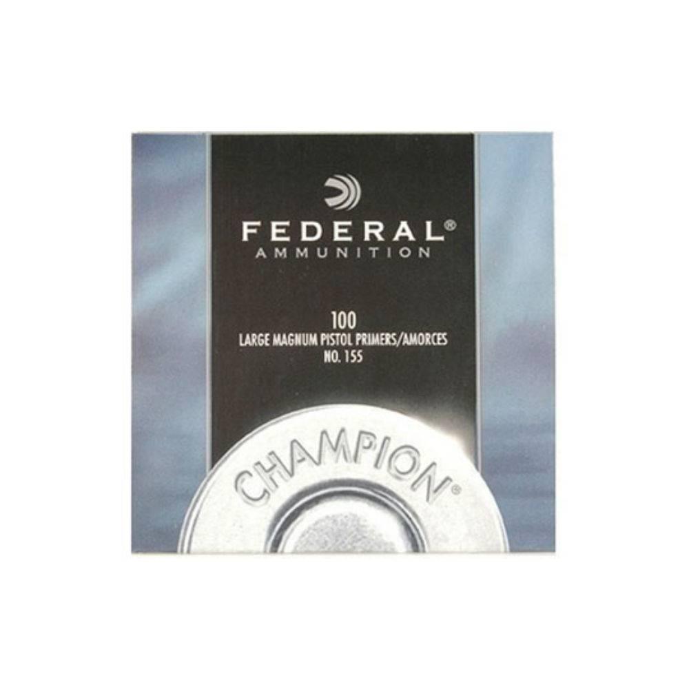 Federal 155 Lge Mag Pistol primers
