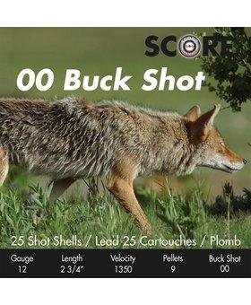 Prairie Shot 00 Buck Shot 2 3/4 1350 fps  250 rds / case
