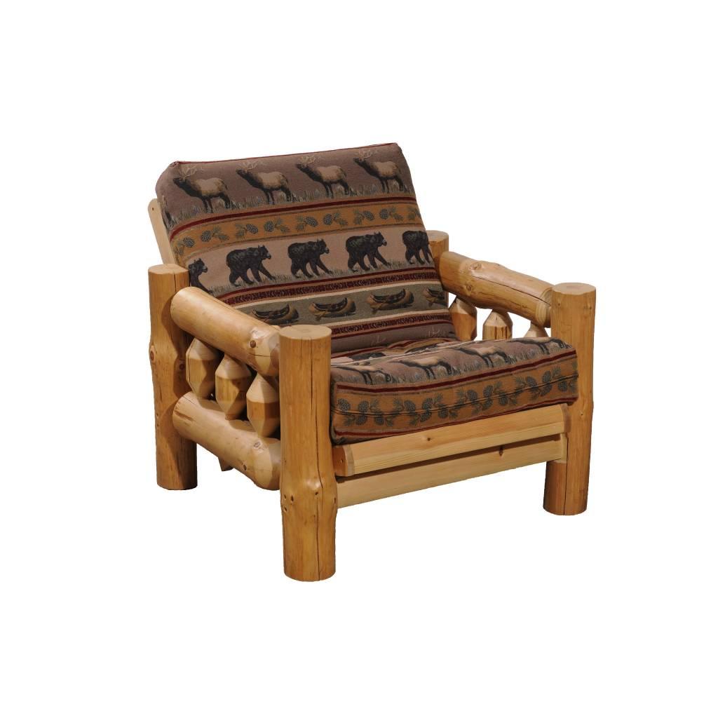 Kelly Barn Log Sofa Chair Frame
