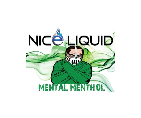NICE VAPOR NICE LIQUID - MENTAL MENTHOL - 15ml