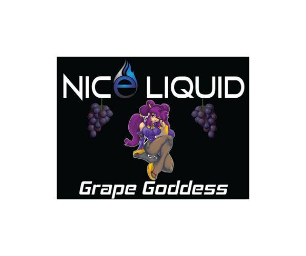 NICE VAPOR NICE LIQUID - GRAPE GODDESS - 15ml