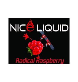 NICE VAPOR NICE LIQUID - RADICAL RASPBERRY - 15ml