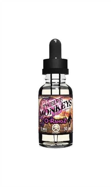 TWELVE MONKEYS TWELVE MONKEYS - O-RANGZ - 100ml