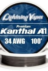 LIGHTNING VAPES LIGHTNING VAPES WIRE - KANTHAL 100ft