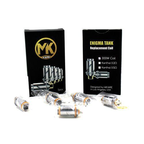 MK VAPES MK VAPES ENIGMA COILS - 5 PACK
