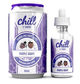 CHILL E-LIQUID CHILL E-LIQUID - PURPLE GRAPE - 60ml