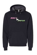 ROCK VAPOR ROCK VAPOR HOODIE - BLACK LOGO