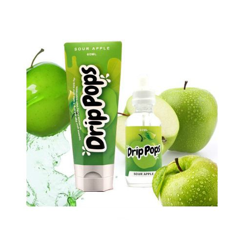 DRIP POPS SOUR APPLE - 60ml 3mg