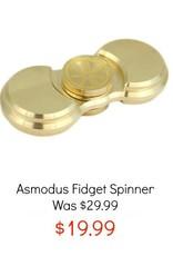 ASMODUS FIDGET SPINNER - BRASS