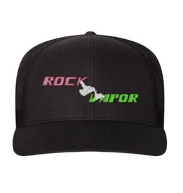 ROCK VAPOR ROCK VAPOR HAT - FLEXFIT TRUCKER