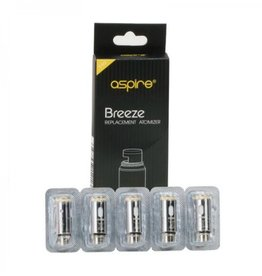 ASPIRE BREEZE REPLACEMENT COILS - 5 PACK - 0.6ohm