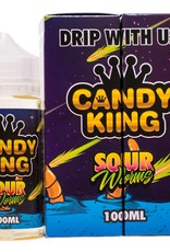CANDY KING - SOUR WORMS 100ML