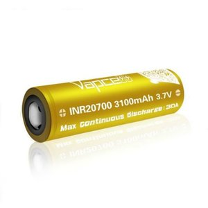 VAPCELL VAPCELL 3100mah INR20700  - SINGLE BATTERY
