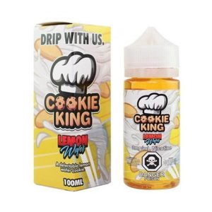 COOKIE KING - LEMON WAFER 100ML