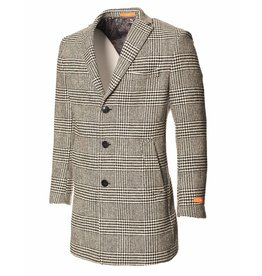 Tallia Large Glen Plaid Fall/Winter Overcoat by Tallia