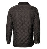 Seven Seas Quilted Spring/Fall Coat by Seven Seas - Black