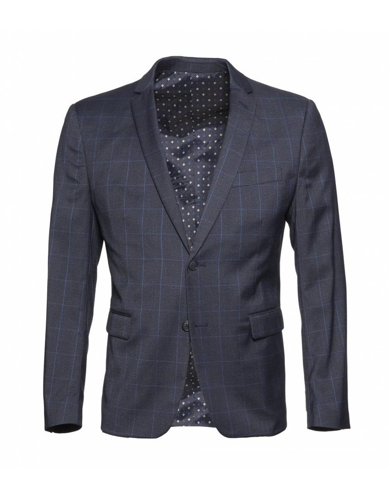Marco Kova - Blue Glen Plaid Sport Jacket by Marco