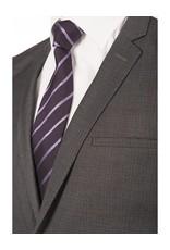 Delahaye London Collection Grey Check Slim Suit  (3686-29)
