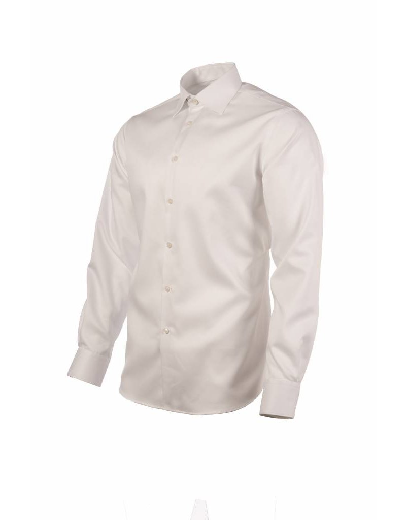 Polifroni BLU Semi-Fitted Shirt in White by BLU from Polifroni