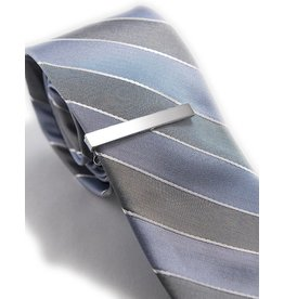 Slim Silver Tie Clip by Knotz