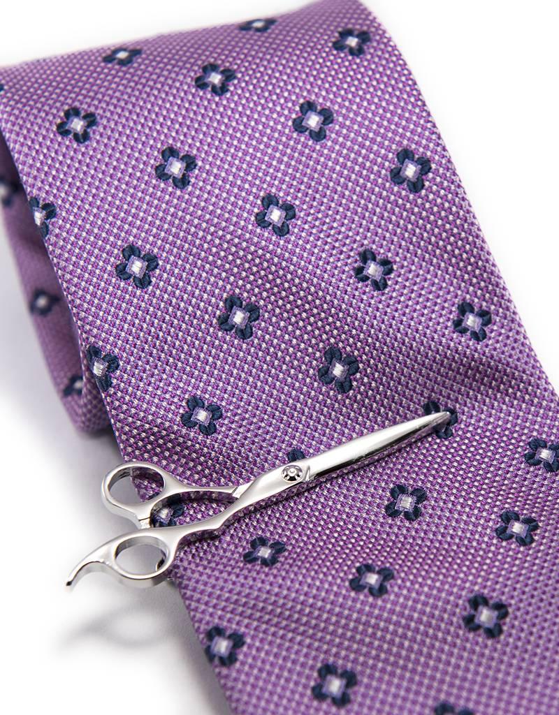 Dibi Silver Scissors Tie Bar by Dibi