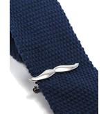Dibi Mustache Tie Bar in Gun Metal by Dibi