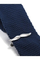 Dibi Mustache Tie Bar in Gun Metal by Dibi