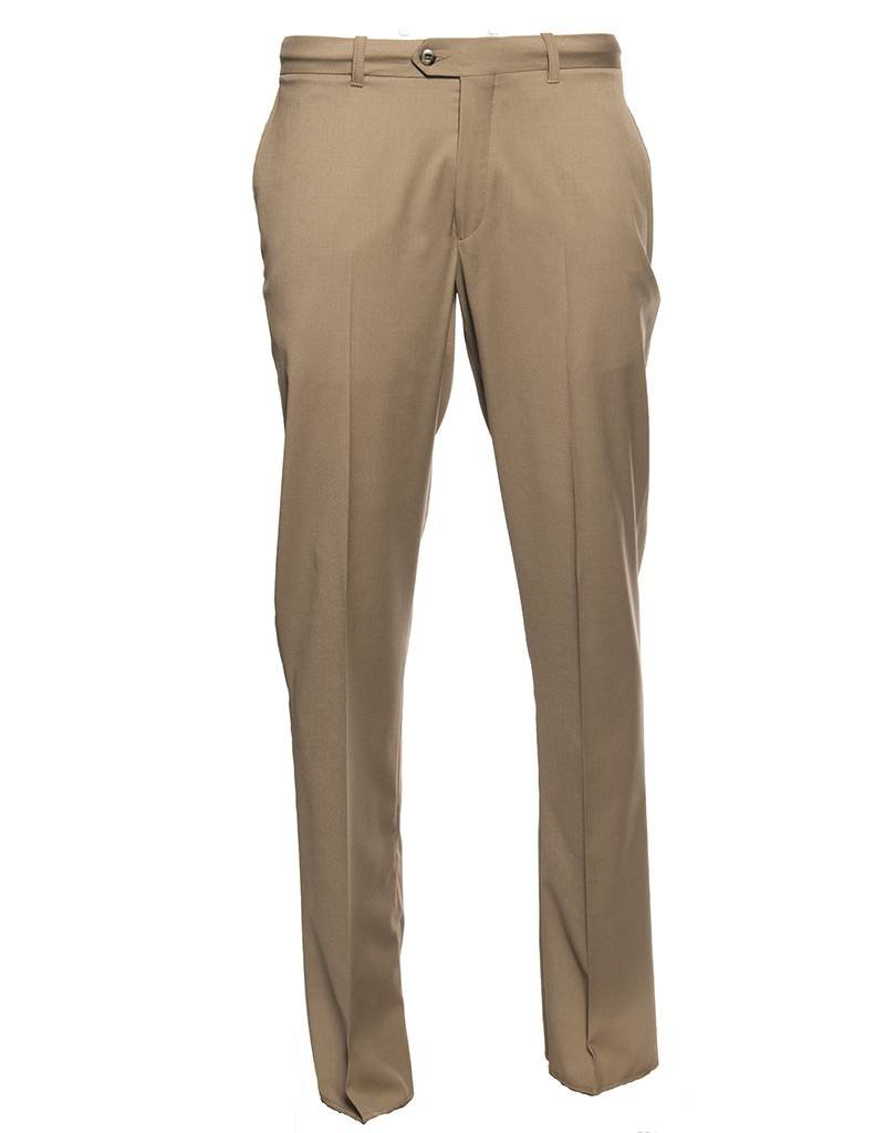Modern Fit Pant by Vision - Sand