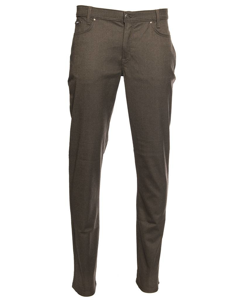 Marco Brown/Black Stretch Pant by Marco