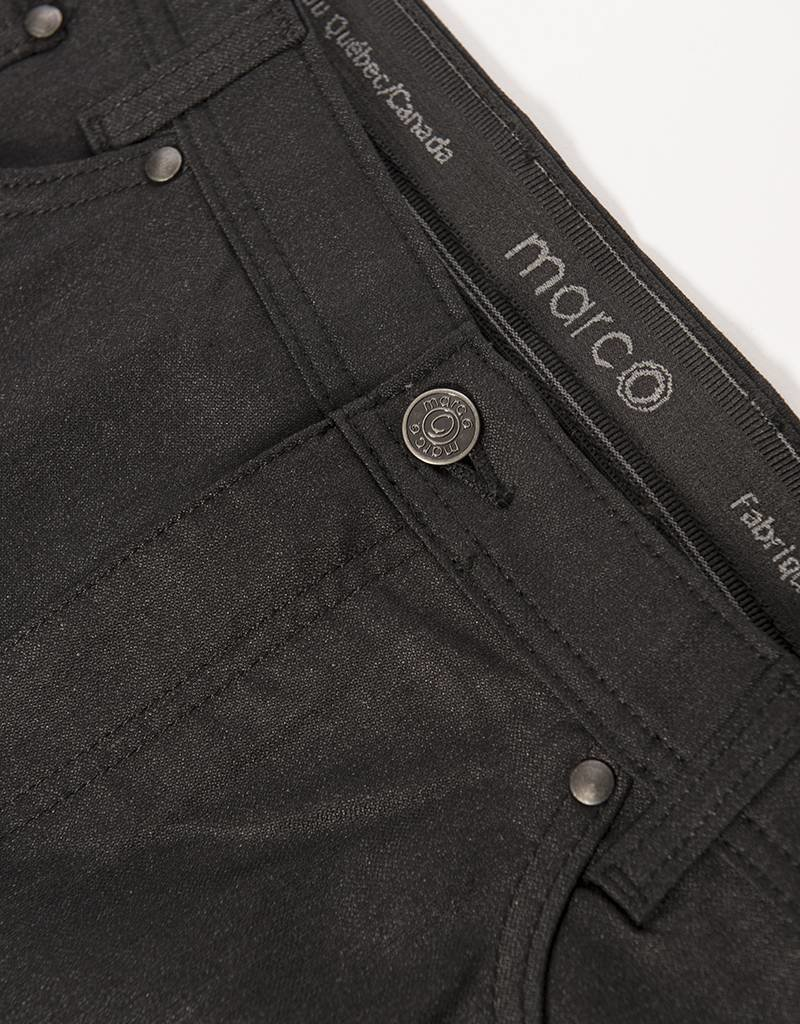 Marco Charcoal Stretch Pant by Marco
